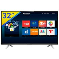 Smart TV 32'' LED Toshiba 32L2600 Conversor Digital