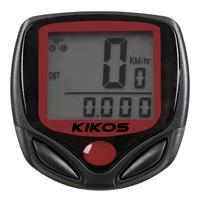 Ciclo Computador Kikos CCB200 Preto e Vermelho