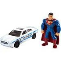 Hot Wheels Batman Vs Superman Metropolis Police e Super Homem - Mattel