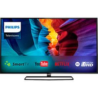 Smart TV Slim LED 40'' Philips Ultra HD 4K com WiFi integrado 40PUG6300/78