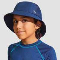 Chapéu Basic Kids Com Proteção Uv Uv Line Azul Indigo