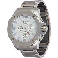 f4dbc173800 Relógio de Pulso EWC Masculino Analógico EMT15313-Z Dourado