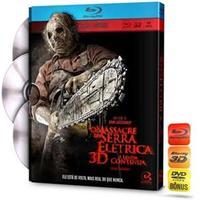 O Massacre da Serra Elétrica A Lenda Continua Blu-Ray + Blu-Ray 3D + DVD Com Extras - Multi-Região / Reg.4
