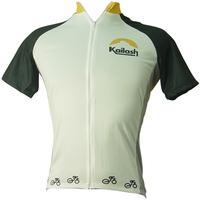 Camiseta Kailash Bike Ride FullMasculina Branca e Preto