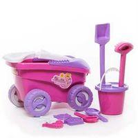 Carrinho Debbie Praia Com 9 Peças 9078 Bell Toys Diversos