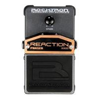 Pedal Guitarra Rocktron Reaction Phaser