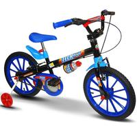 Bicicleta Nathor Tech Boys Aro 16 Azul
