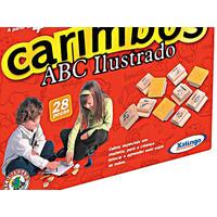 Jogo de Carimbos ABC Xalingo 28 Peças