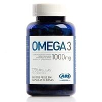 Suplemento ADS Total Nutrition Labs Omega 3 120 Cápsulas