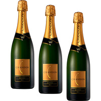 Kit com 3 Espumantes Chandon Réserve Brut 750 ml