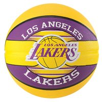 Bola de Basquete Spalding NBA Los Angeles Lakers Team Rubber Basketball Tam 7 - Unissex