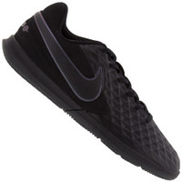 Chuteira Futsal Nike Tiempo Legend 8 Club IC - Adulto - PRETO