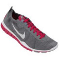 19d0b17356 Tênis Nike Free TR Twist W Feminino Cinza e Pink