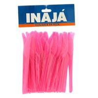 Faca de Plástico Ambrosiana Grande 50 unidades Pink