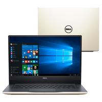 "Notebook Dell Inspiron I14-7472-A20G Intel Core i7-8550U 8GB 1TB 4GB 1.8GHz Full HD 14"" Windows 10 Dourado"