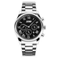Relógio Skmei 9078 Analógico Preto