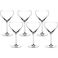 Taça Cristal Blumenau Martini 6 Peças