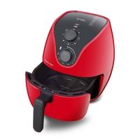 Fritadeira Elétrica sem oleo Air Fryer Multilaser Gourmet CE083 4 Litros 1500W Vermelha