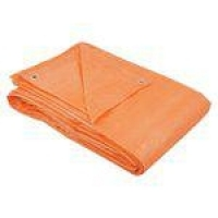 Lona polietileno 4x3m laranja 100 micras - Belfix