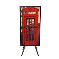 Rack Armario Retro 2 Portas Telefone 45x35x1.15 Phorman