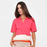 266779528e Camisa Polo Lacoste Listras Feminina - Feminino