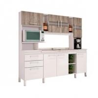 Cozinha Compacta Movelbento Emiglia Branca