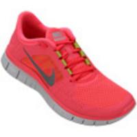 Tênis Nike Free Run+ 3 W Feminino Rosa Escuro  107caac011dd7