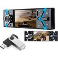 Radio Automotivo Com Bluetooth 4' 1din Bt Sd Usb Aux Mp5 Rádio + Pen Drive 8gb Multilaser