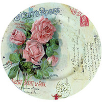 Sousplat Mimo Style SP13725 Roses