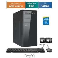 Computador Desktop Easypc 5690 Core I5 3.2GHz 8GB 320GB Windows 10