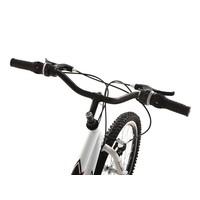 Bicicleta Track Aro 24 18 Marchas Axess Branca e Preta