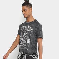 Camiseta Replay Sinful Nights Masculina - Masculino
