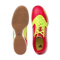 d0fbea614ed52 Chuteira de Futsal Adidas F10 Adizero Vermelha e Amarela