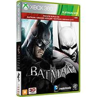 Batman Arkham Asylum + Arkham City Xbox 360 Microsoft