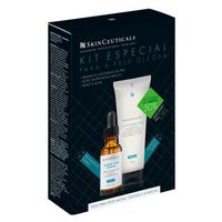 Skinceuticals Blemish Age Defense Lha Cleasing Gel Kit Tratamento Antiacne Gel De Limpeza Facial