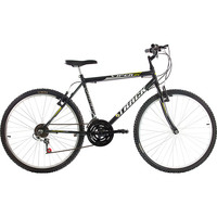 Bicicleta Track & Bikes Aro 26 Viper 18 Marchas Preto Fosco