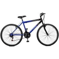 Bicicleta Master Bike Ciclone Aro 26 Azul e Preta