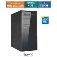 Computador Desktop Easypc 5400 Dual Core 2.41GHz 4GB 320GB Windows 10