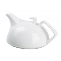 Bule Para Chá Itacaré Porcelana Branca 600ml