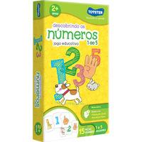 Jogo Educativo Descobrindo os Numeros 1 ao 5 Toyster