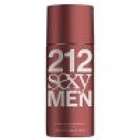 Desodorante Spray Carolina Herrera 212 Sexy MEN 150ml Masculino