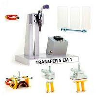Prensa Transfer 5x1 Caneta, Canecas Régua, Porta-Lápis, Squeeze 110v