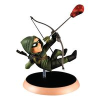 Figura Colecionável Q-Figures DC Comics Green Arrow 15cm Bandai
