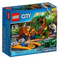 Lego City Starter Set Base Da Selva 60157