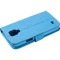 Capa para Celular e Cartão Galaxy S4 Mini Case Mix Azul