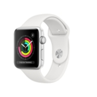 Apple Watch Series 3 42mm Silver Prata com Pulseira Branca