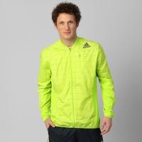 Jaqueta Adidas Supernova SMT Masculina Verde Limão  b22d94276f69f