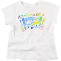 3c64a53d01ca1 Camiseta Levi´s Kids Floral Batwing Infantil Branca
