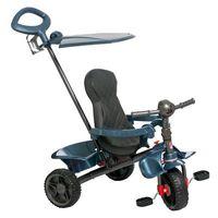 Triciclo De Passeio Smart Reclinável Azul Bandeirante