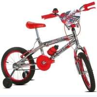 Bicicleta Infantil Sport Bike Top Cross Aro 16 Cromada Vermelha